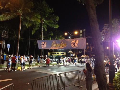 Hapalua Half Marathon Starting Line