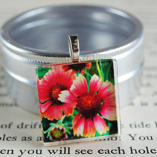 Light My Fire Photo pendant