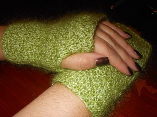 Jane fingerless gloves