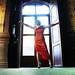 Boda vestido rojo // dama de honor