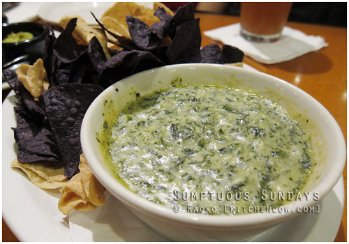 Sumptuous Sundays: Spinach Artichoke Dip