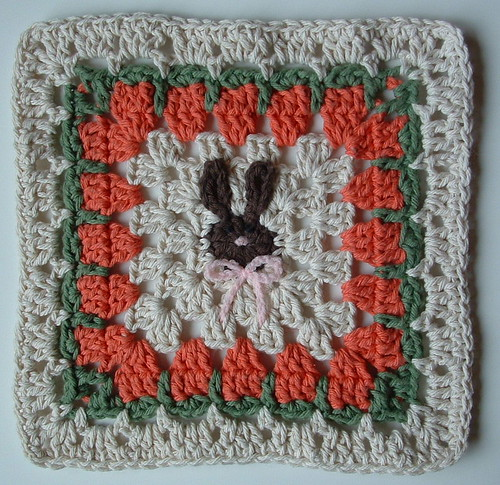 My Bunny Dishcloth