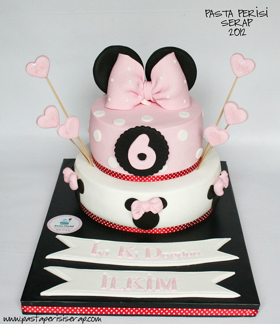 MINIE MOUSE BIRTHDAY CAKE - İLKİM