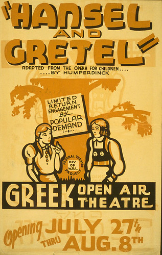 009-Hansel and Gretel Adapted from the opera for children  by Humperdinck -1936-Library of Congress