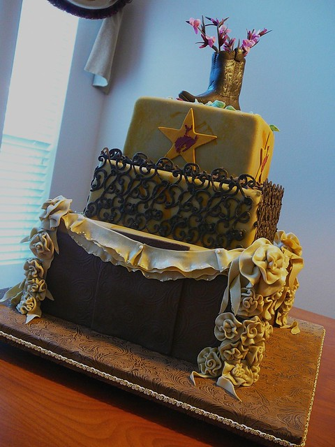 Texas Wedding Cake Side View Flickr Photo Sharing