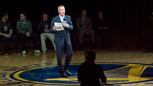 Chris Mullin Honored