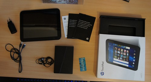 HP TouchPad   Android 4.0 ICS CM9 ir WebOS
