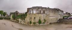 Panorama of ruins in Saint-Émilion