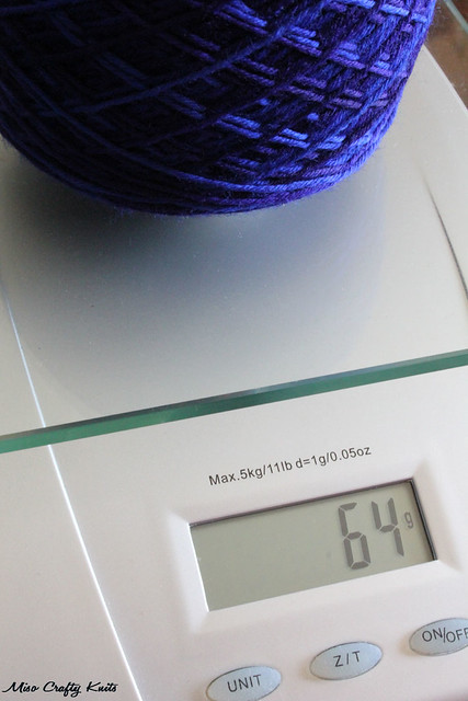 Nuvem Yarn on Scale