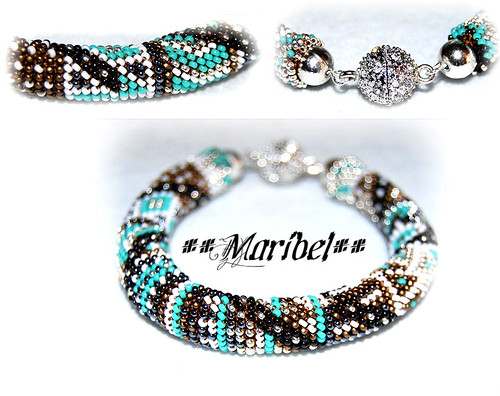 Mas Ganchillo...Pulsera by HADA-Maribel