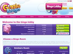 Giggle Bingo Lobby
