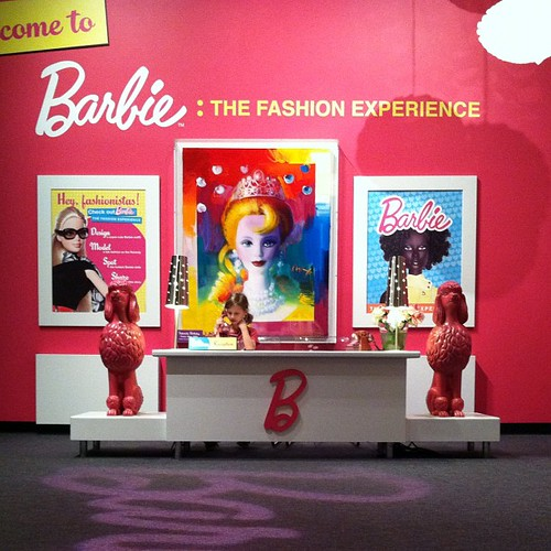 In her glory. And we are so happy we made it because today is the last day for the #Barbie
