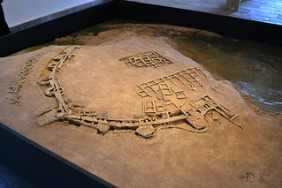 Model of Palamari excavations, Skyros, June 2011