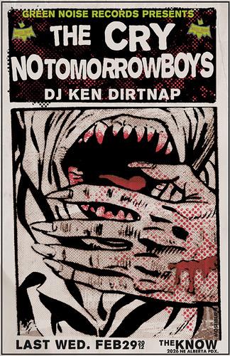 2/29/12 TheCry/NoTomorrowBoys