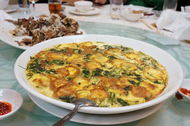 雞蛋蒸焗魚腸