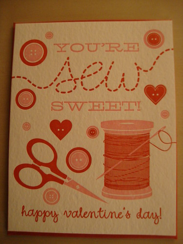 You're Sew Sweet!  from Paper Source