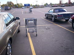 Walmart parking (by: Paul Swansen, creative commons license)