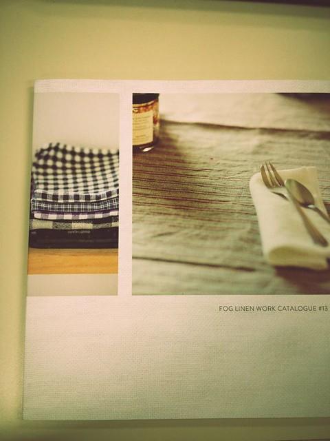 fog linen work catalogue #13