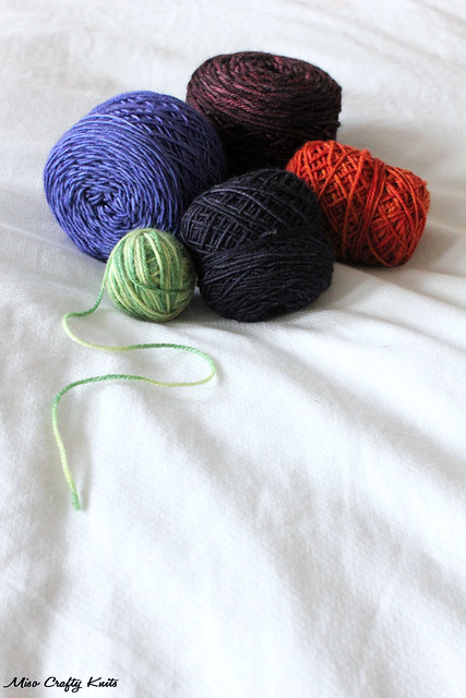 Left over yarn balls 2
