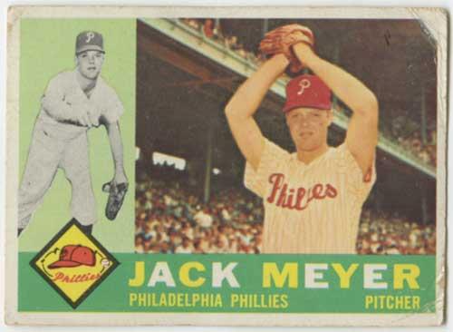 1960 Topps Jack Meyer