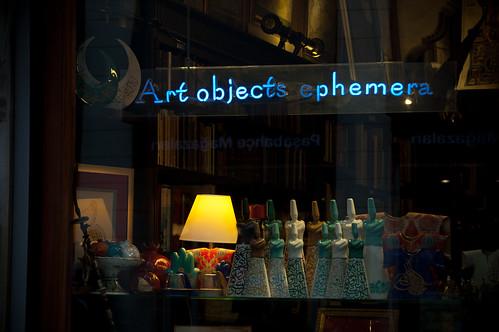 Art objects ephemera