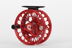Nautilus FWX Fly Reel RED Custom