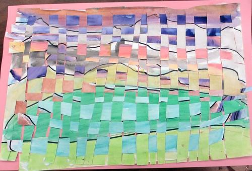 woven watercolors