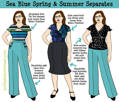 Sea Blue Spring & Summer Separates