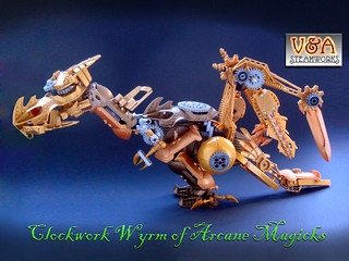 Clockwork Wyrm of Arcane Magicks - V&A Steamworks