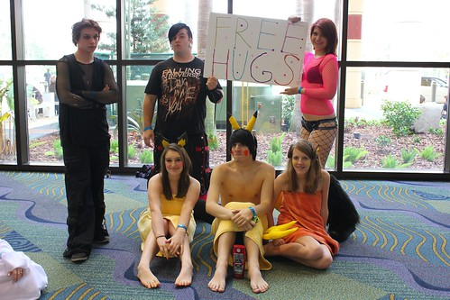 Free Hugs - MegaCon 2012