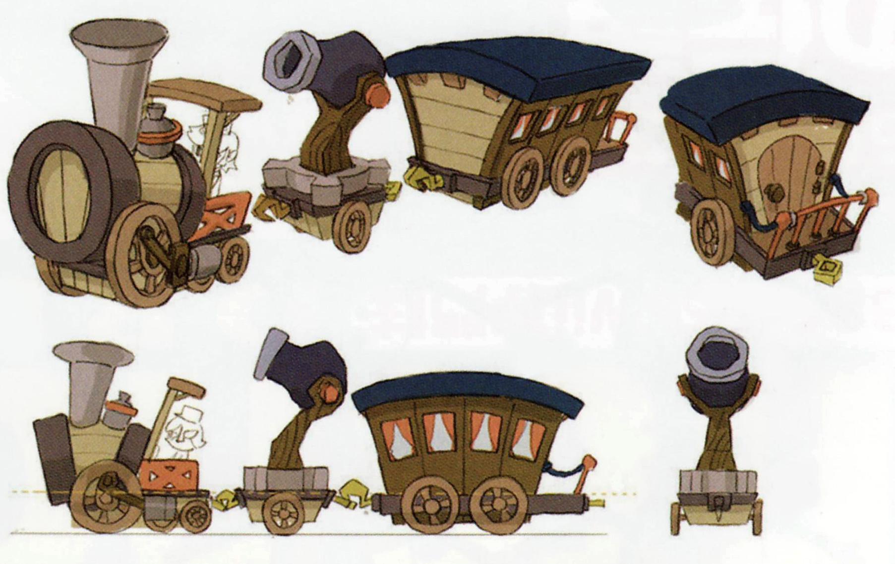 ST Wooden Train