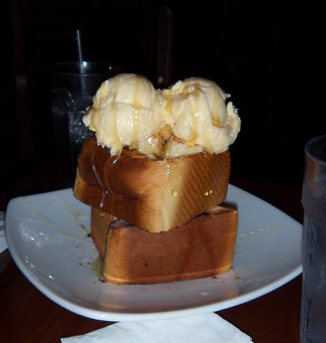 Honey Toast & Vanilla Ice Cream