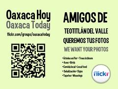Free Poster: Oaxaca Hoy, Teotitlan del Valle