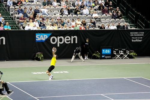 SAP Open 2012 - Raonic vs. Harrison