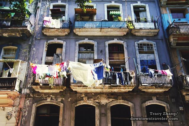 Old Havana Cuba Street Scene 1