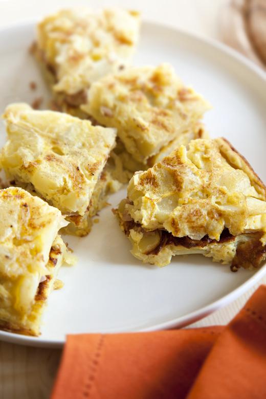 Tapas tortilla de patatas