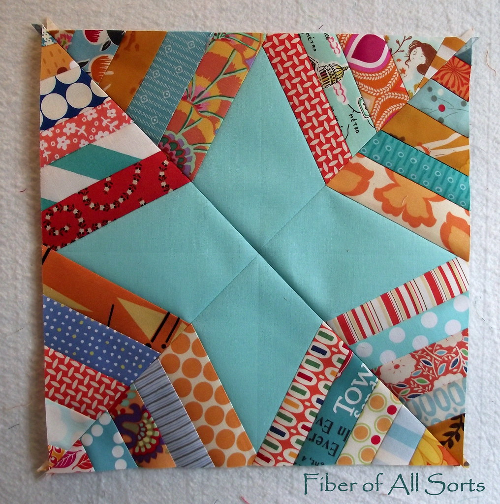 Aqua and Orange -- Feb Block 2