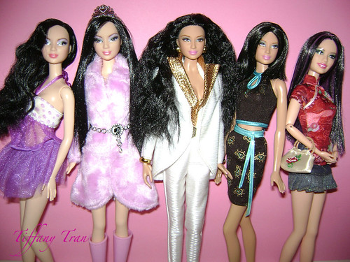 Some of 2012 Asian Barbies