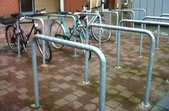 Bike racks work