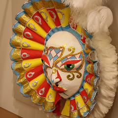Junkanoo mask from Nassau