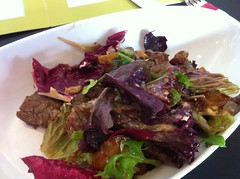 Lunch salad (half portion) at Fresco Bistro in Cor…