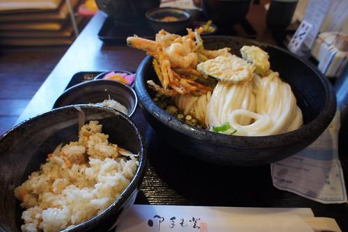 野菜かき揚天ぶっかけ・大セット