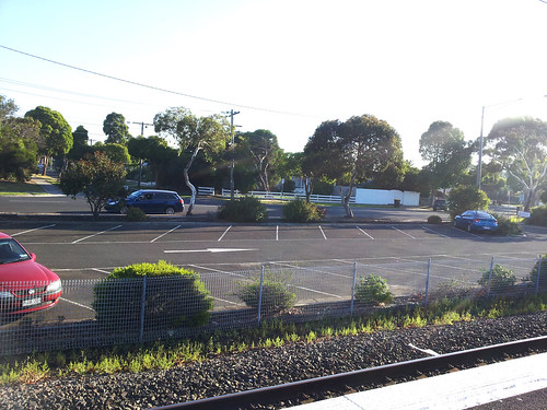Westona Train Station Carpark