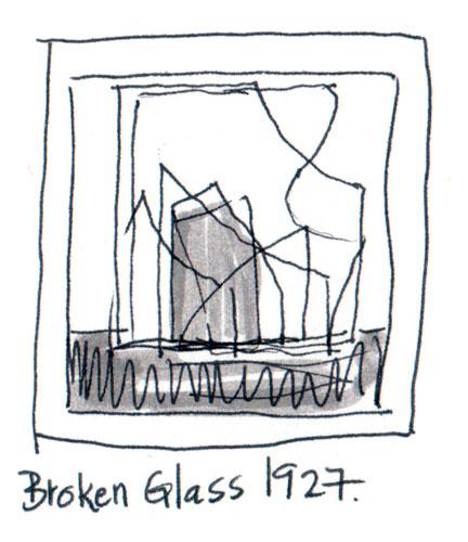 Broken Glass – Feiniger