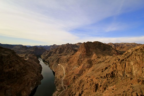 A glimpse of the Colorado River