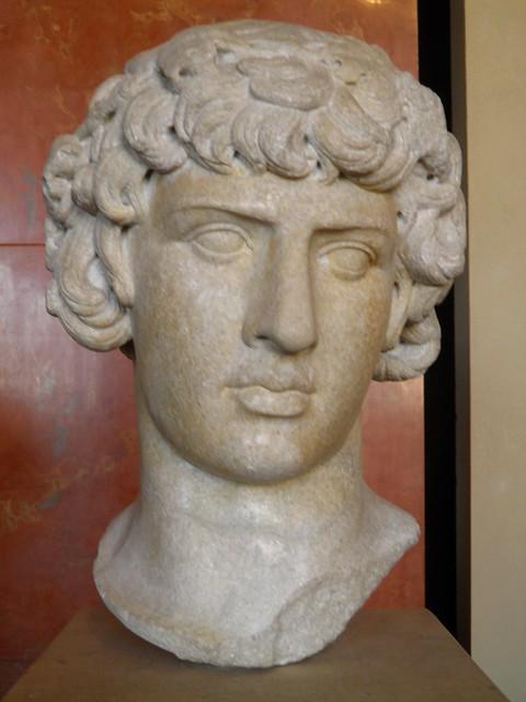 Antinous Dionysos, ca. 130 AD, origin unknown, Louvre Museum