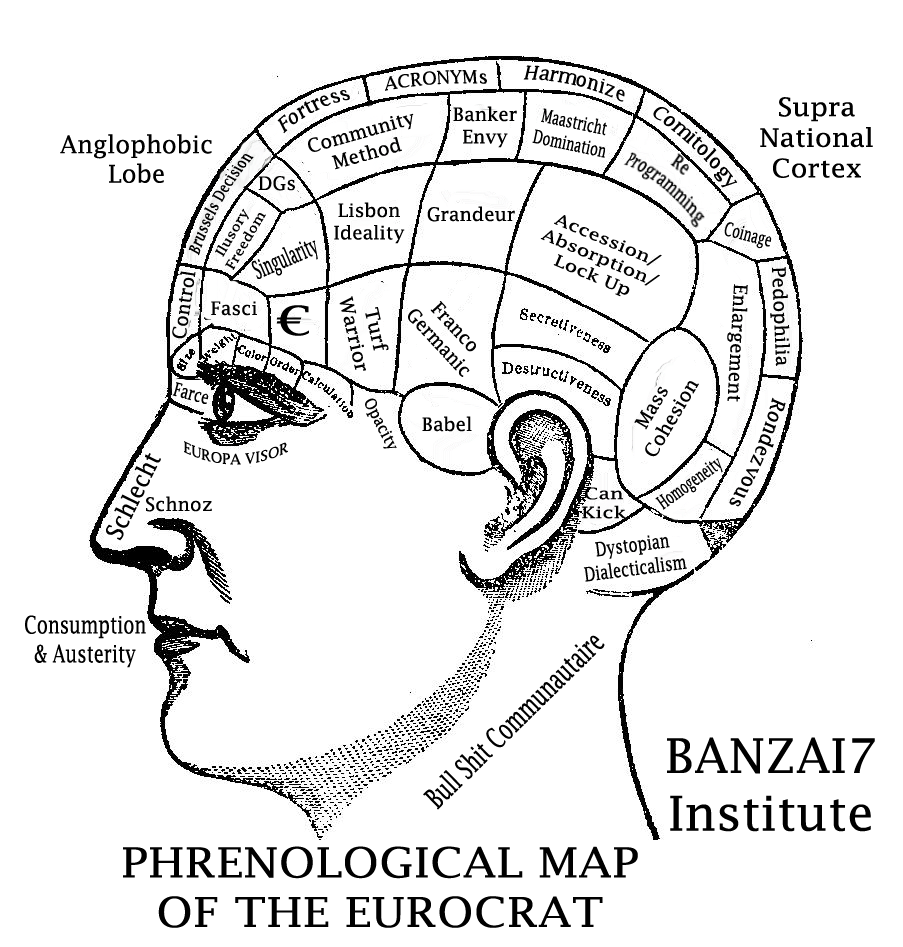 PHRENOLOGICAL MIND OF THE EUROCRAT