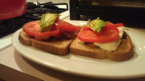 Cooking: Open faced cheese sandwiches by dharder9475