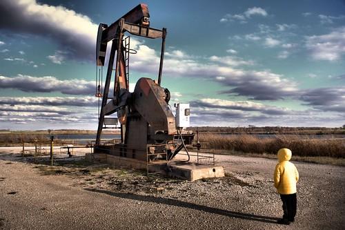 usa america landscape texas oil petrol