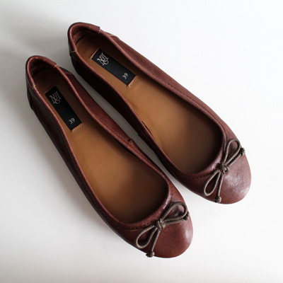 fashionarchitect.net mango brown ballerina flats 3